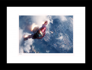 Iron Man Rescues Spider-Man Art Print