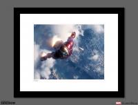 Gallery Image of Iron Man Rescues Spider-Man Art Print