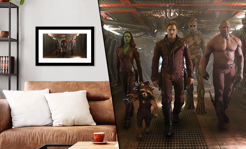 Gallery Feature Image of Guardians of the Galaxy Art Print - Click to open image gallery