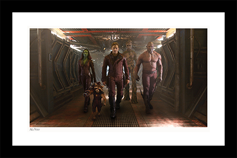 Classic Stills Guardians of the Galaxy Art Print
