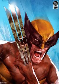 Gallery Image of The Incredible Hulk vs Wolverine Art Print