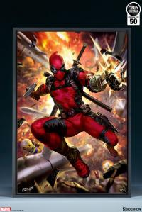 Gallery Image of Deadpool: Heat-Seeker HD Aluminum Metal Variant Art Print
