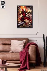 Gallery Image of Deadpool: Heat-Seeker HD Aluminum Metal Variant Art Print