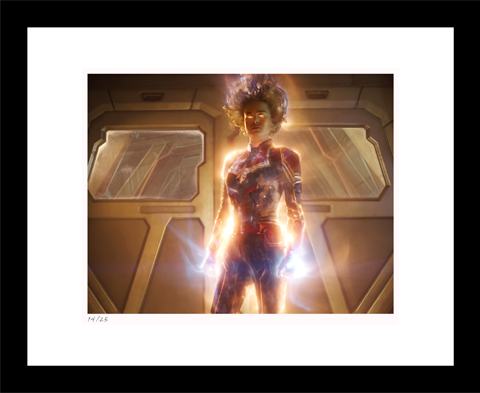 Classic Stills Using Her Power Art Print