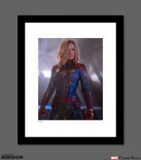 Gallery Image of Captain Marvel Art Print