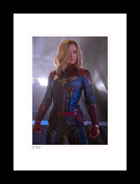 Classic Stills Captain Marvel Art Print