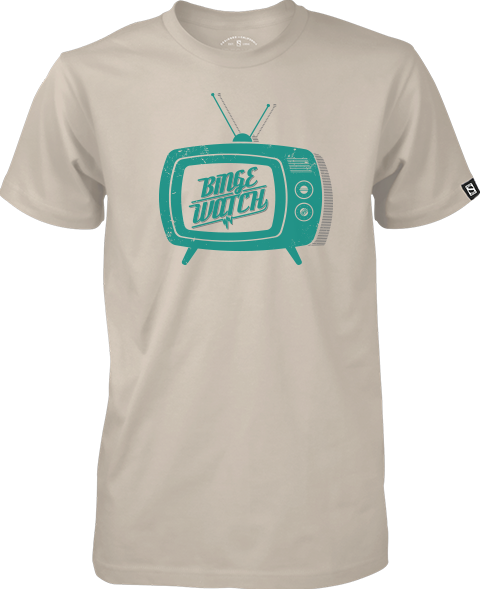 Sideshow Collectibles Binge Watch T-Shirt Apparel