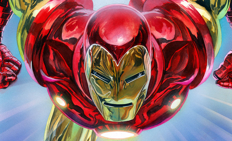 Gallery Feature Image of The Invincible Iron Man Art Print - Click to open image gallery