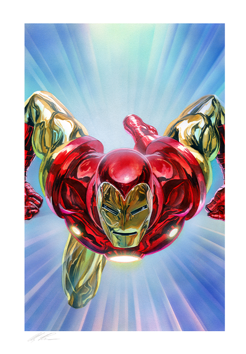 Alex Ross Art The Invincible Iron Man Art Print