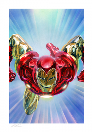 The Invincible Iron Man Art Print