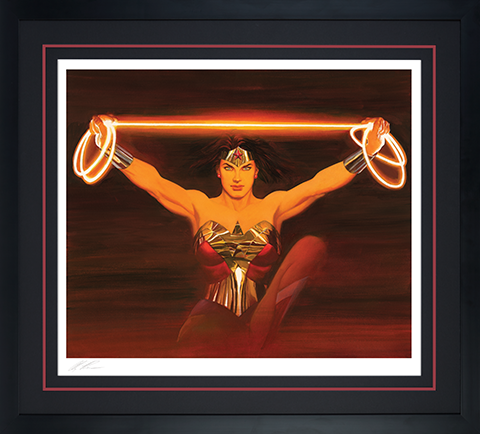 Alex Ross Art Fierce Art Print