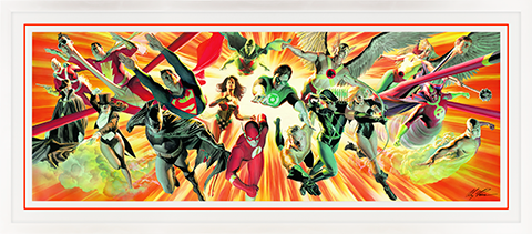 Alex Ross Art Perfect Alliance Art Print