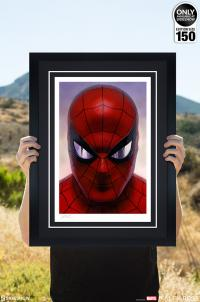 Gallery Image of Spider-Man: Portraits of Heroism & Green Goblin: Portraits of Villainy Set Art Print