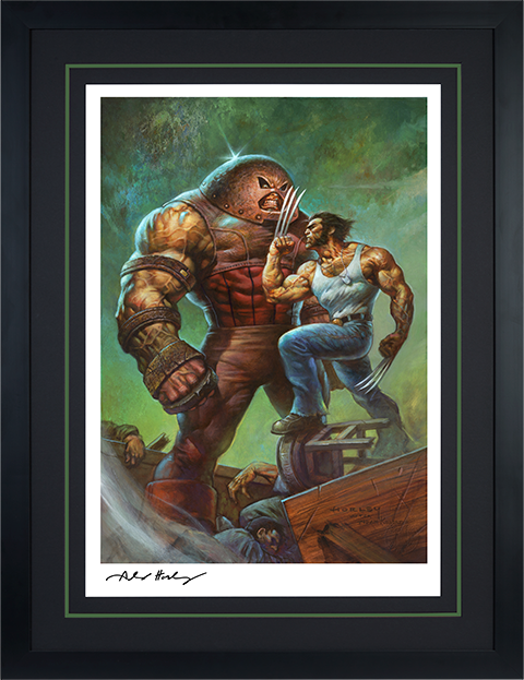Sideshow Collectibles Juggernaut VS Wolverine Art Print