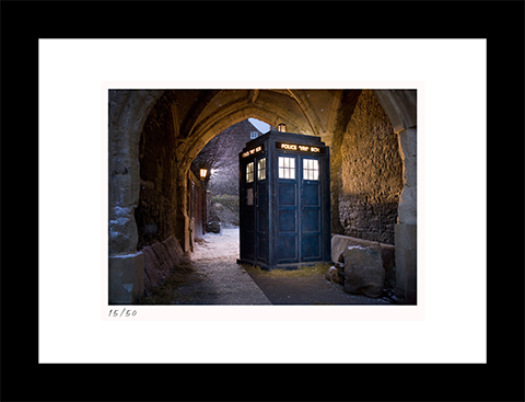 Classic Stills The Tardis Art Print