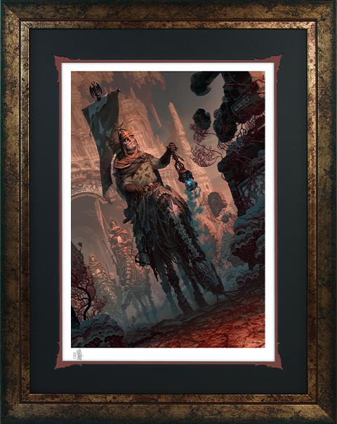Sideshow Collectibles Underworld Quest Knight Relic Ravlatch Art Print