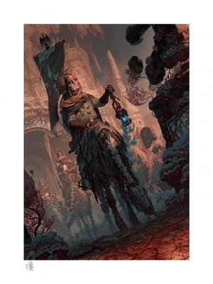 Underworld Quest Knight Relic Ravlatch Art Print