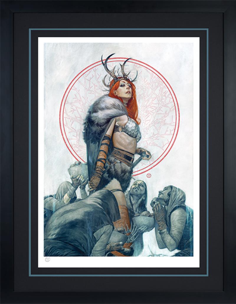 Red Sonja: Queen of Hyrkania Art Print -