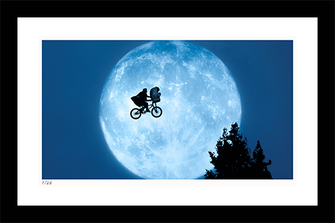Classic Stills Flying Across the Moon Art Print