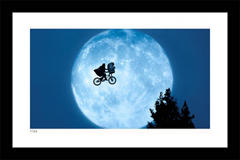 Flying Across the Moon Art Print - 14x22 Landscape