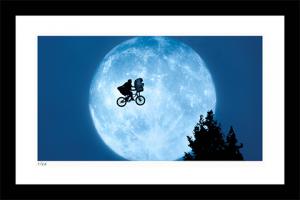 Flying Across the Moon Art Print