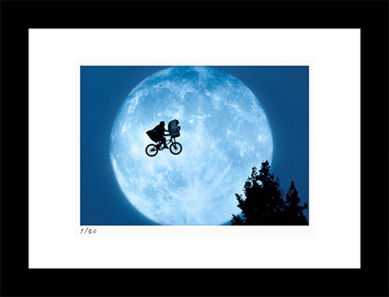 Flying Across the Moon Art Print - 11x14 Landscape