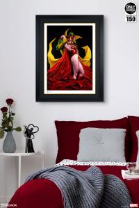 Gallery Image of Scarlet Witch & Vision Art Print