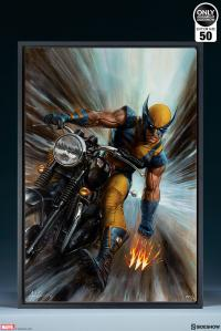Gallery Image of Return of Wolverine HD Aluminum Metal Variant Art Print