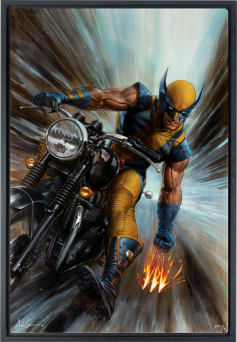 Sideshow Collectibles Return of Wolverine HD Aluminum Metal Variant Art Print
