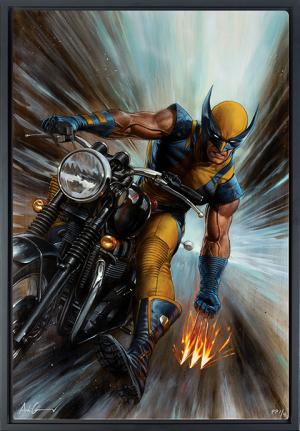 Return of Wolverine HD Aluminum Metal Variant Art Print