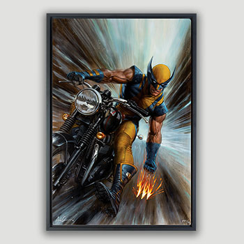 Return of Wolverine HD Aluminum Metal Variant Art Print
