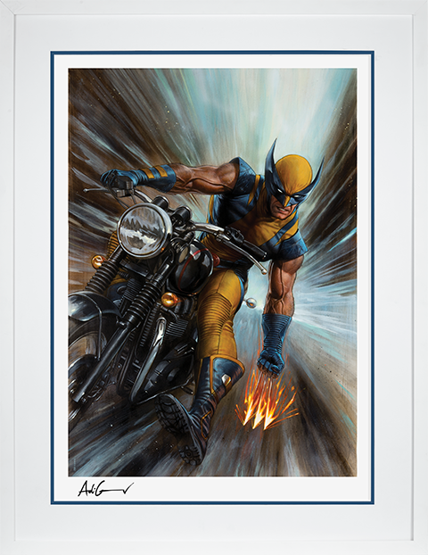 Sideshow Collectibles Return of Wolverine Art Print