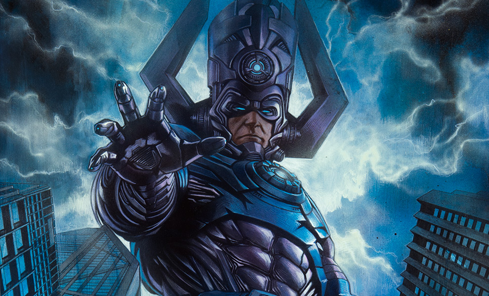 Gallery Feature Image of Galactus Art Print - Click to open image gallery