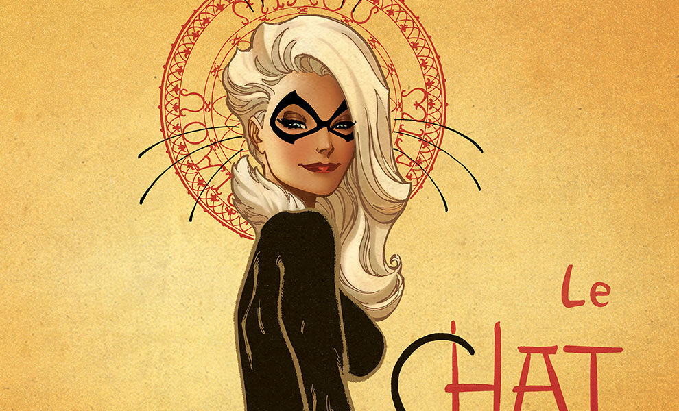 Gallery Feature Image of Le Chat Noir: The Black Cat Art Print - Click to open image gallery