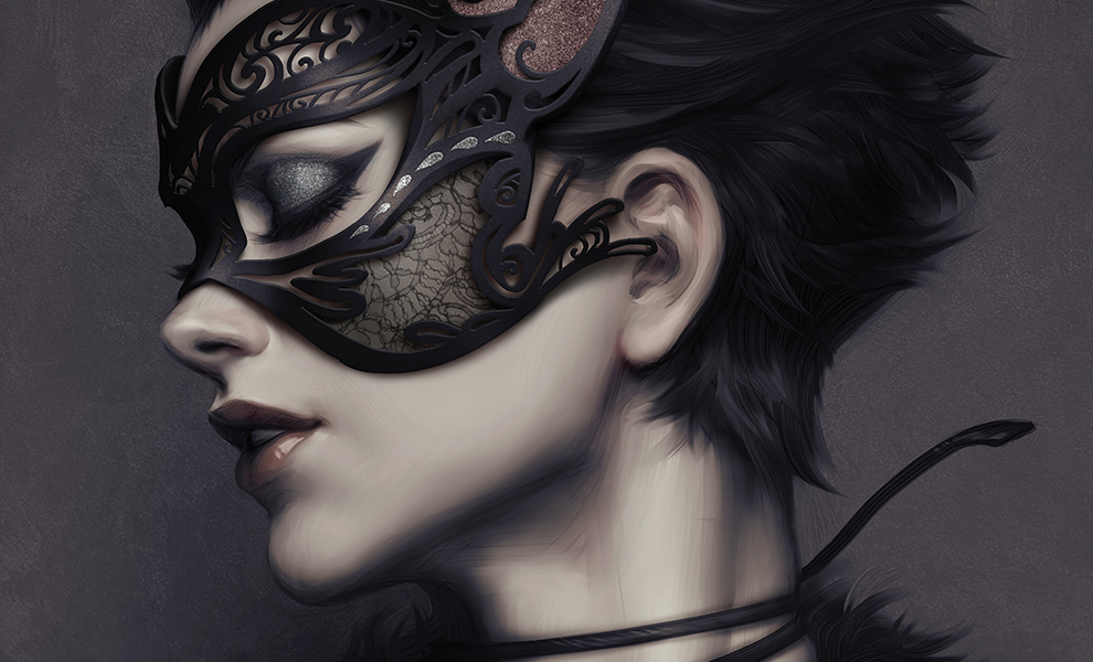 Gallery Feature Image of Catwoman #4 Art Print - Click to open image gallery