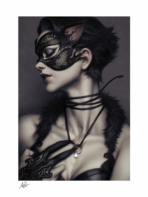 Sideshow Collectibles Catwoman #4 Art Print