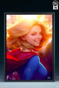 Gallery Image of Supergirl #16 HD Aluminum Metal Variant Art Print