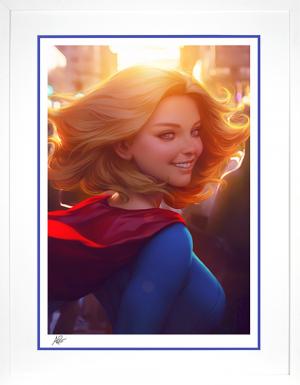 Supergirl #16 Art Print