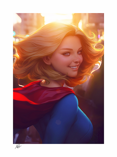 Sideshow Collectibles Supergirl #16 Art Print