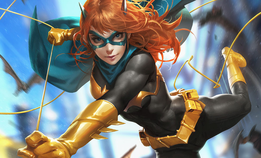 Gallery Feature Image of Batgirl #32 HD Aluminum Metal Variant Art Print - Click to open image gallery