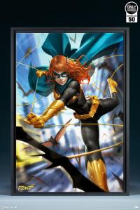 Gallery Image of Batgirl #32 HD Aluminum Metal Variant Art Print