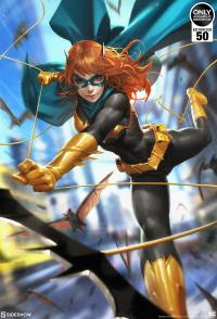 Gallery Image of Batgirl #32 HD Aluminum Metal Variant Art Print