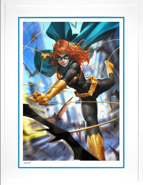 Sideshow Collectibles Batgirl #32 Art Print