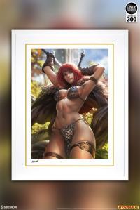 Gallery Image of Red Sonja Art Print
