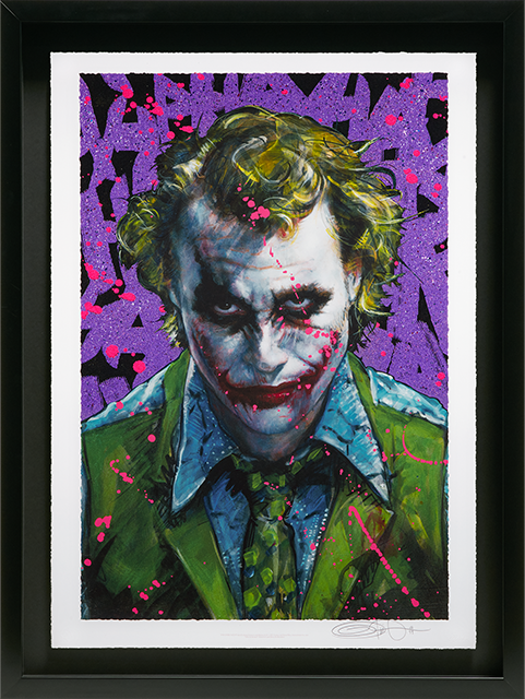 Ozone Productions Why So Serious? Art Print
