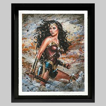 Wonder Woman: Amazon Warrior Art Print