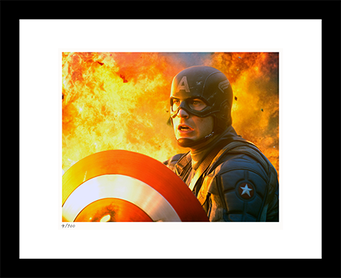 Classic Stills Captain America: The First Avenger Art Print