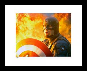 Captain America: The First Avenger Art Print