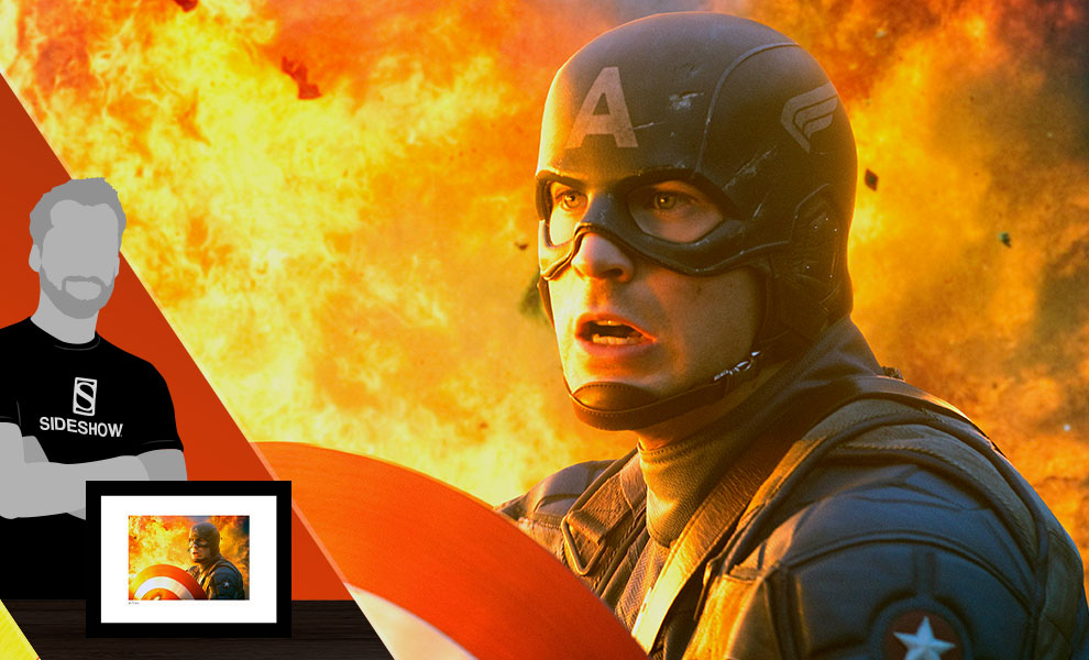 Gallery Feature Image of Captain America: The First Avenger Art Print - Click to open image gallery