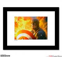 Gallery Image of Captain America: The First Avenger Art Print